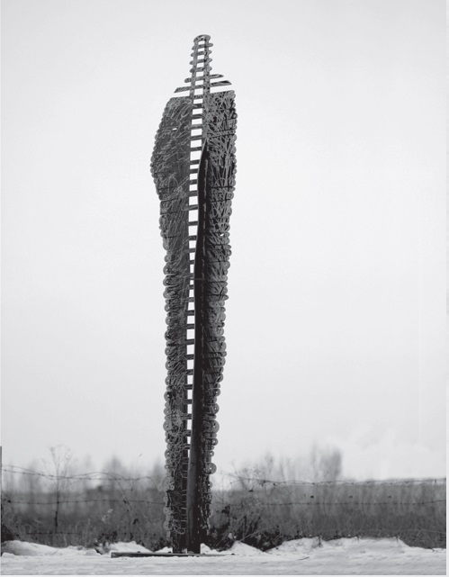 the great ladder - iron, 387x107x107cm - 2014 - 5000eur